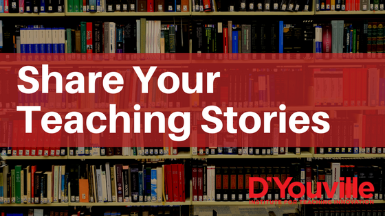 Two Ways to Quickly Share your Teaching Stories