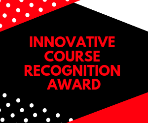 2019 Innovative Course Recognition Awards