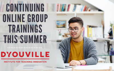 Continuing Online Group Trainings This Summer