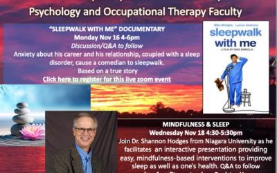 Sleep Awareness Week 11.16 – 11.20