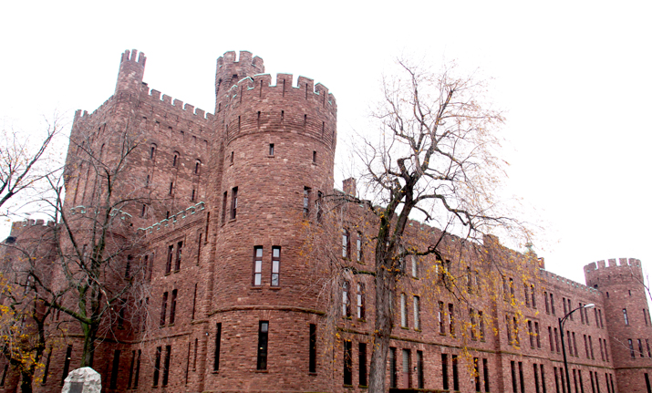 outside view of The Connecticut Street Armory