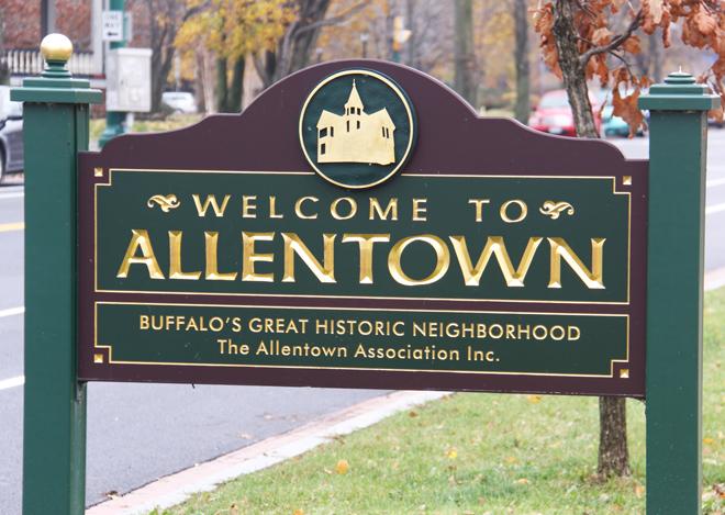 Allentown Sign