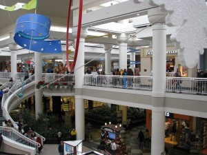 Inside the Walden Galleria Mall