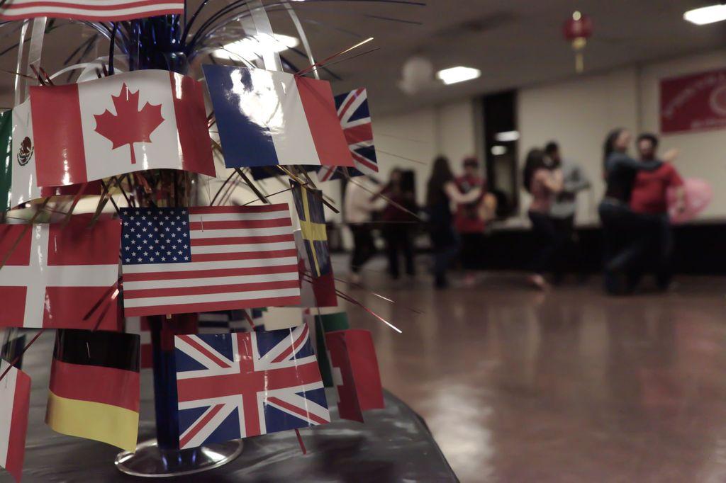 Blog 6 - Flags Photo: Lukia Costello