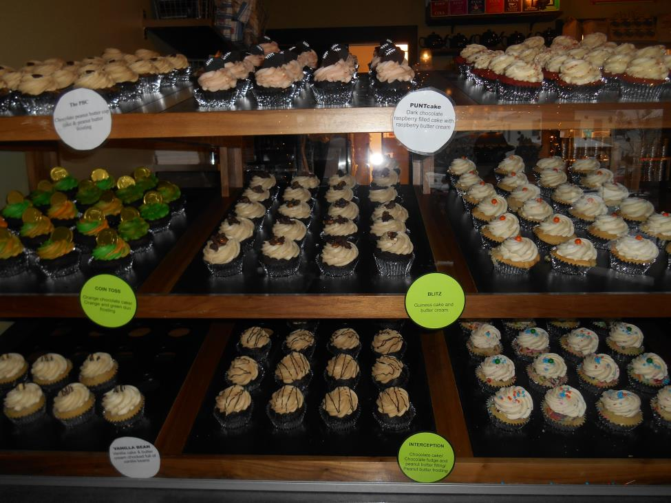 cupcakes window at firefly in east aurora