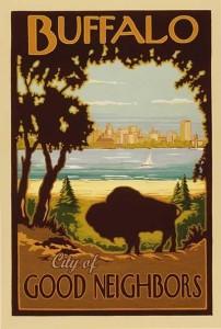Buffalo - City of Good Neighbors graphic