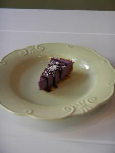 The Best Blueberry and Lavender Cheesecake Ever!