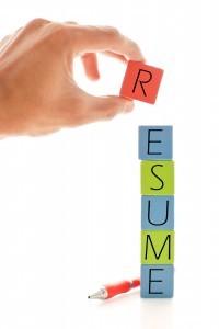 resume block
